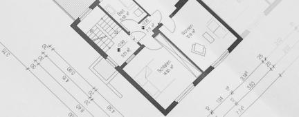 Planimetria di un alloggio in tedesco