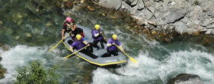 Istruttore di rafting