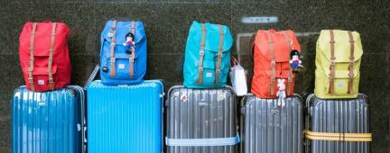 Zaini e valigie