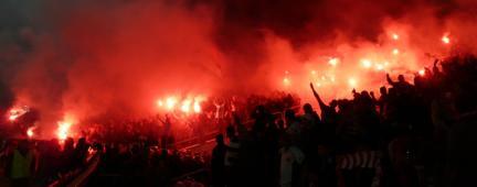 Violenza allo stadio